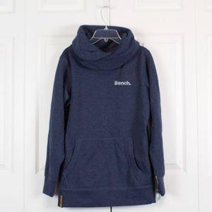 Bench Blue Fleece Sweatshirt EU Size ~ US Size L